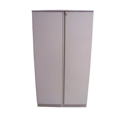 "Great Openings Trace 36"" Double Door 5-High Storage Cabinet with Shelf"