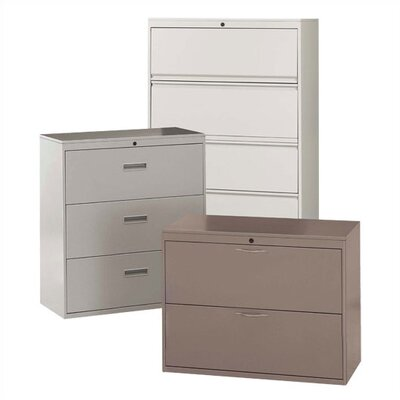 Great Openings Standard Lateral Four Drawer File Cabinet