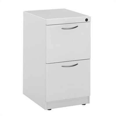 Great Openings Freestanding Pedestal with Two File Drawers