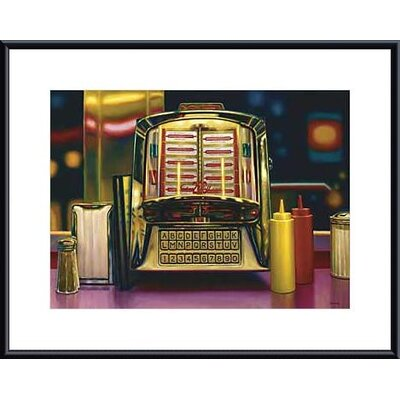 Barewalls Wall Box II Metal Framed Art Print