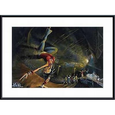 Barewalls B-Girl Metal Framed Art Print