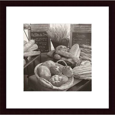 Barewalls Les Pains No. 2 Wood Framed Art Print
