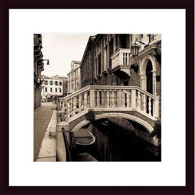 Barewalls Ponti di Venezia No. 3 Wood Framed Art Print