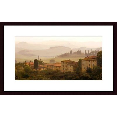 Tuscan Mist by Jim Chamberlain Wood Framed Art Print