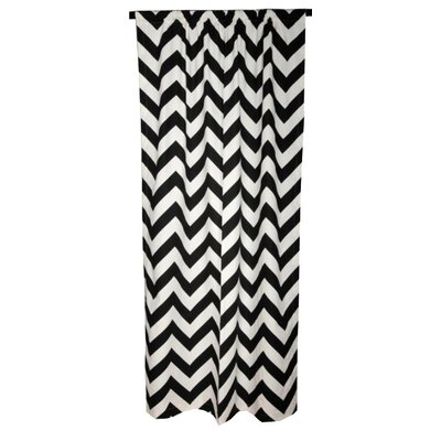 Elisabeth Michael Chevron Cotton  Curtain Single Panel