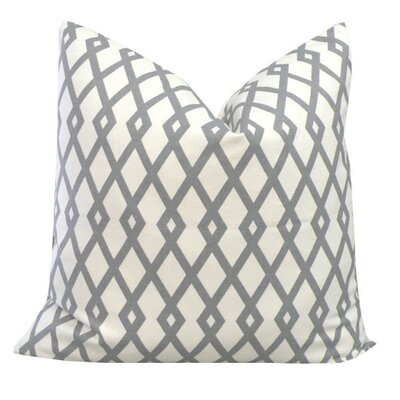 Elisabeth Michael Graphic Cotton Pillow