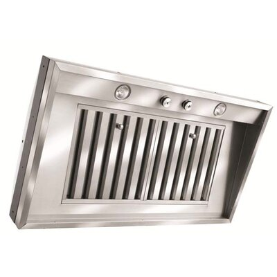 Vent-A-Hood M Series Pro Wall Mount Liner with Single Blower