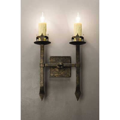 2nd Ave Design Castilla 2 Light Wall Sconce