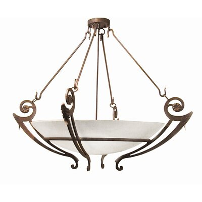 2nd Ave Design Ceres 6 Light Inverted Pendant