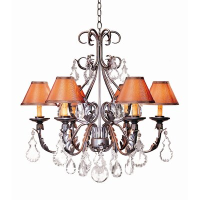 French Elegance 6 Light Chandelier