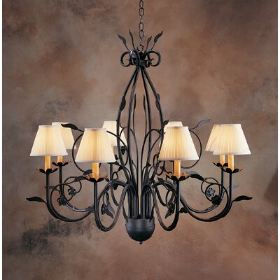2nd Ave Design Bordeaux 8 Light Chandelier