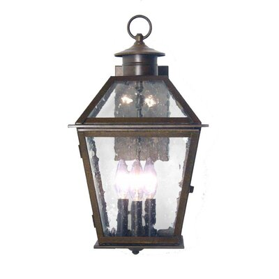 2nd Ave Design Corrina Wall Mount 2 Light Exterior Lantern