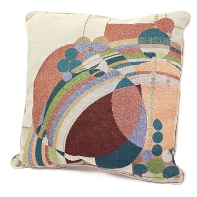 Rennie & Rose Design Group Frank Lloyd Wright ® March Balloons Stuffed Pillow