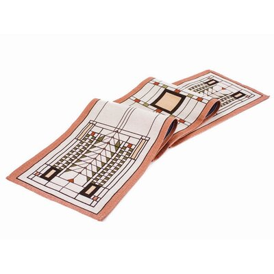 Rennie & Rose Design Group Frank Lloyd Wright Tree of Life Table Runner