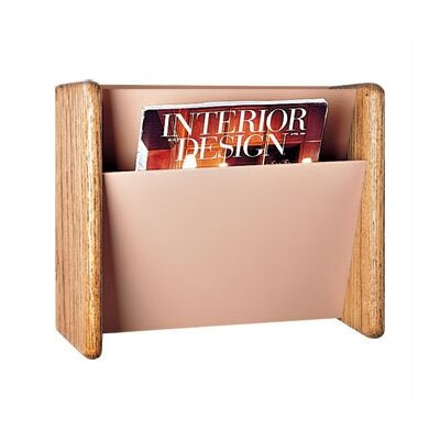 Peter Pepper One Pocket Magazine Rack with Pocket Divider Kit