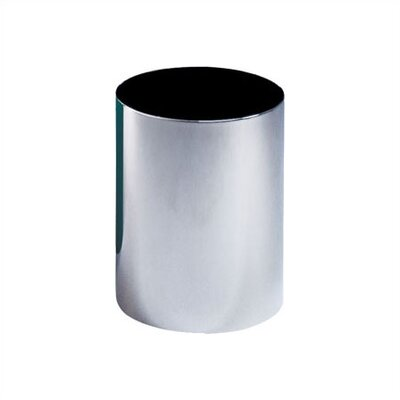 Peter Pepper Steel Wastebasket with Optional Plastic Bag Retainer