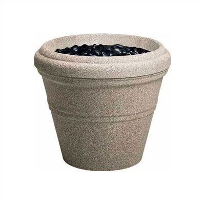"Peter Pepper 20"" Fiberglass Tapered Planter"