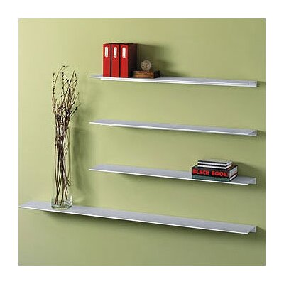 Peter Pepper Envision® Wall Mounted Aluminum Shelf