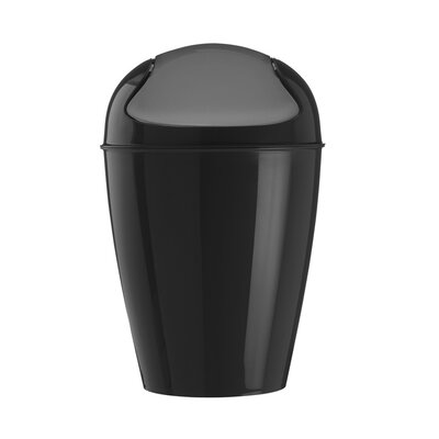 Koziol Del Swing Top Wastebasket