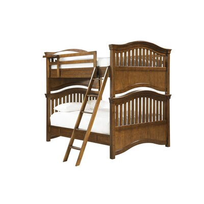 SmartStuff Furniture Classics 4.0 Full over Full Bunk Bed with Ladder