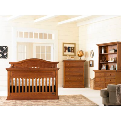 Bonavita Sheffield 2 Piece Nursery Lifestyle Crib Set