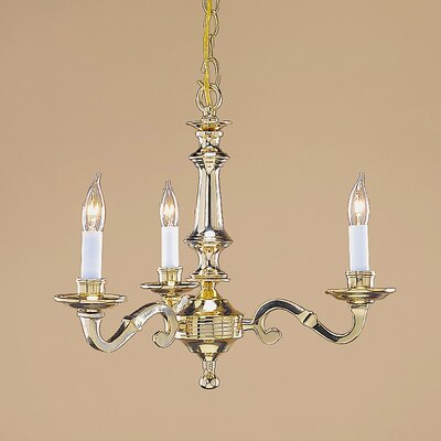 JVI Designs 3 Light Chandelier