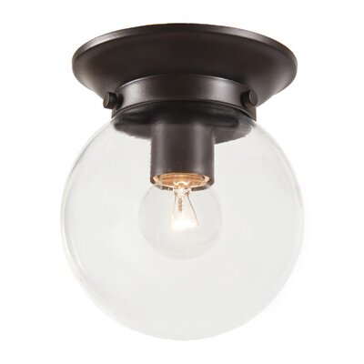 JVI Designs Windsor 1 Light Flush Mount