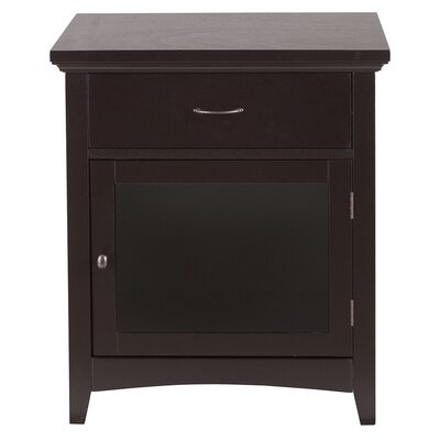 Zag 1 Drawer Nightstand