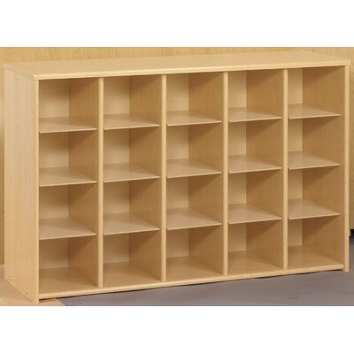 TotMate Eco Laminate Preschool Sectional Storage