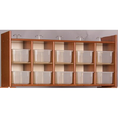 TotMate Eco Laminate Diaper Wall Storage with Trays