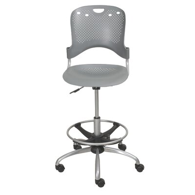 Balt Mid-Back Circulation Drafting Chair with Optional Arms