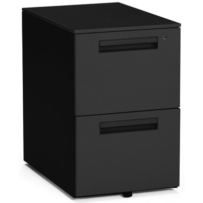 Balt Mobile File Cabinet in Charcoal