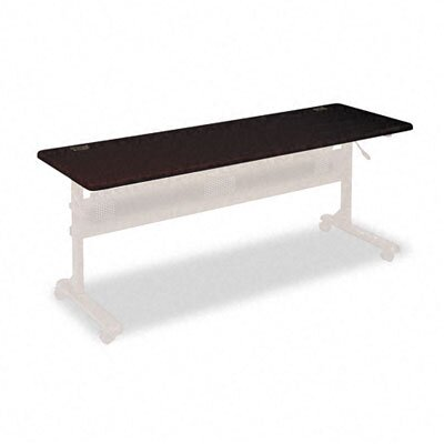 Balt Flipper Training Table, 72w x 24d, Mahogany