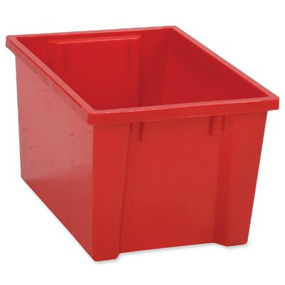 "Balt Kids Tub, Large, 10-1/4""x15-1/2""x8-1/4"", Red"