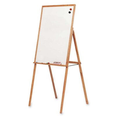Balt Wooden Presentation Easel, 30&quot;x31-1/2&quot;x69-1/2&quot;, Oak