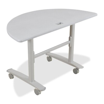 "Balt Table Base, 48""x24""x29-1/2"", Silver"