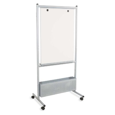 Balt Nest Easels, Double Sided, 31-1/2&quot;x24&quot;x72&quot;, Silver