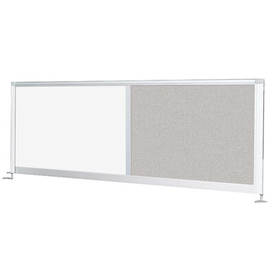 "Balt Iflex 17"" H x 58-66"" W Desk Privacy Panel"