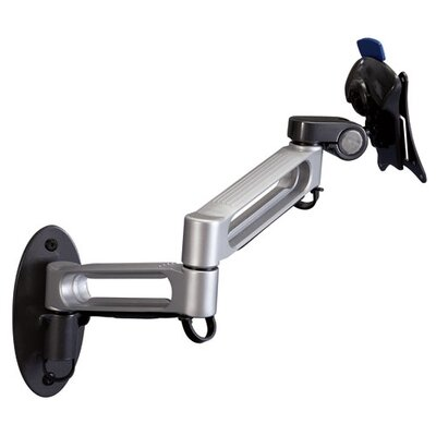 Balt Dual Arm Wall Mount in Gray/Black