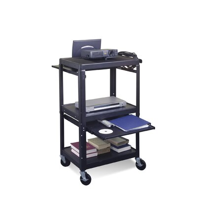 Balt Adjustable Laptop Cart Shelf