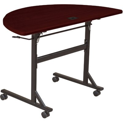 Balt Economy Flipper Half Round Training Table