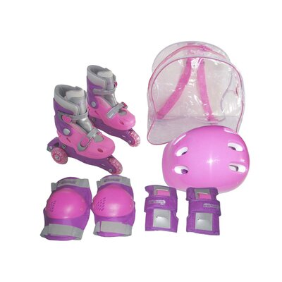 Chicago Skate Girls Adjustable InLine Skate Training Set