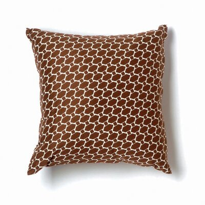 Twinkle Living Lego Pillow in Brown