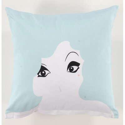 Twinkle Living Glamour Girl Pillow in Seafoam