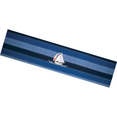 I Sea Life Sailing Away Table Runner