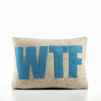 "Alexandra Ferguson ""WTF"" Decorative Pillow"