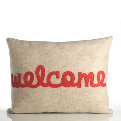 "Alexandra Ferguson ""Welcome"" Decorative Pillow"