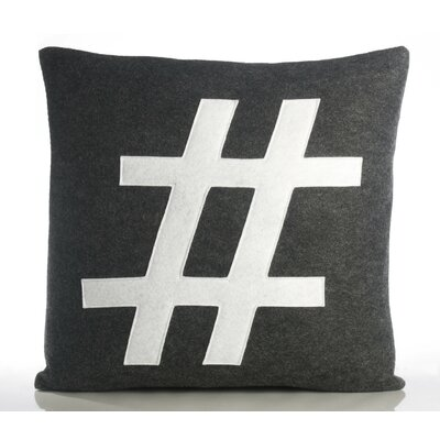 "Alexandra Ferguson Modern Lexicon ""#"" Decorative Pillow"