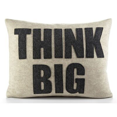 "Alexandra Ferguson Zen Master ""Think Big"" Decorative Pillow"