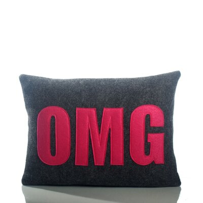 Alexandra Ferguson Modern Lexicon OMG Decorative Pillow